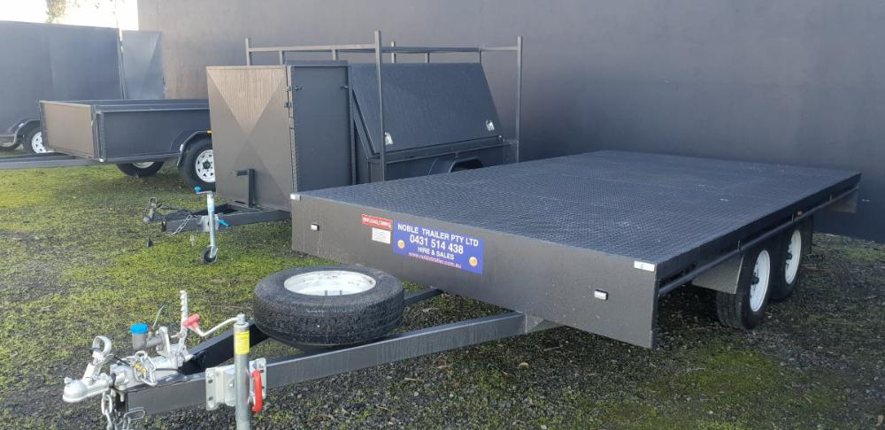 flat top trailer for hire