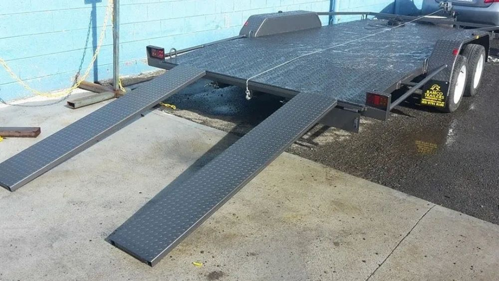 car trailers for hirer