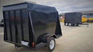 enclosed trailers for hire
