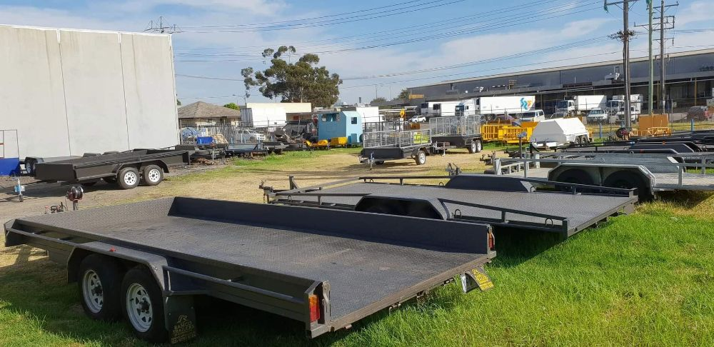 various trailers for hire