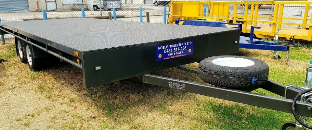 flat bed trailer for hire