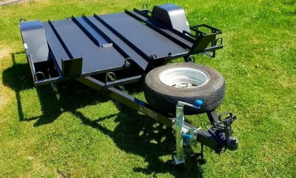 motorbike trailer for hire