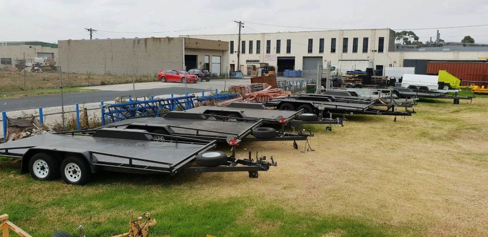 carious trailers for hire