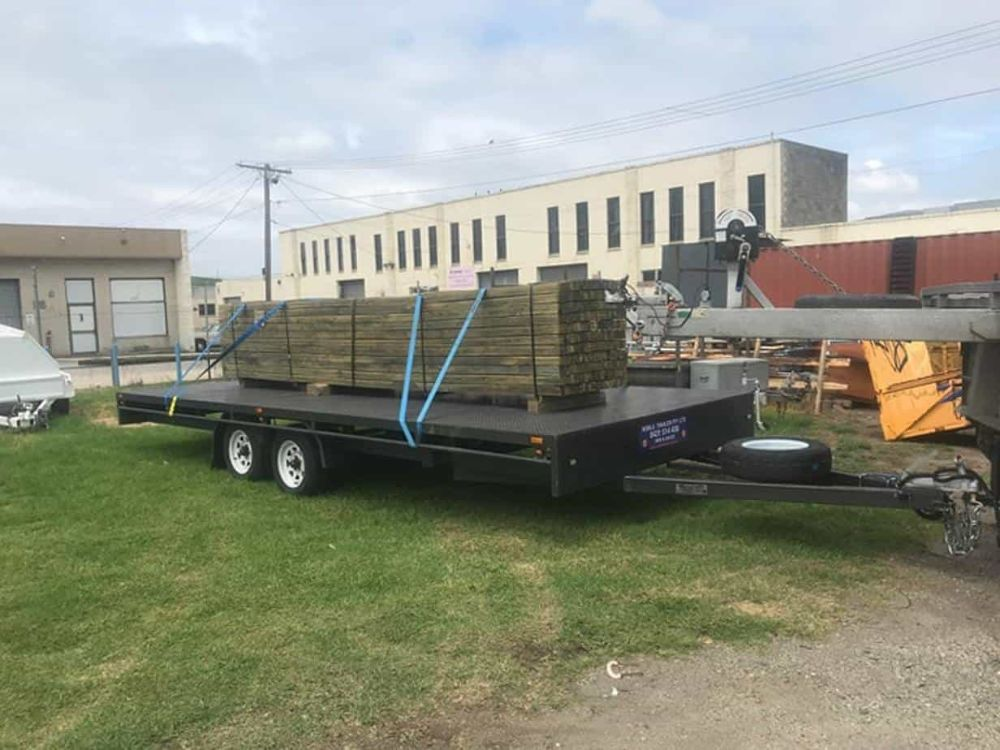 plant machinery trailer for hire