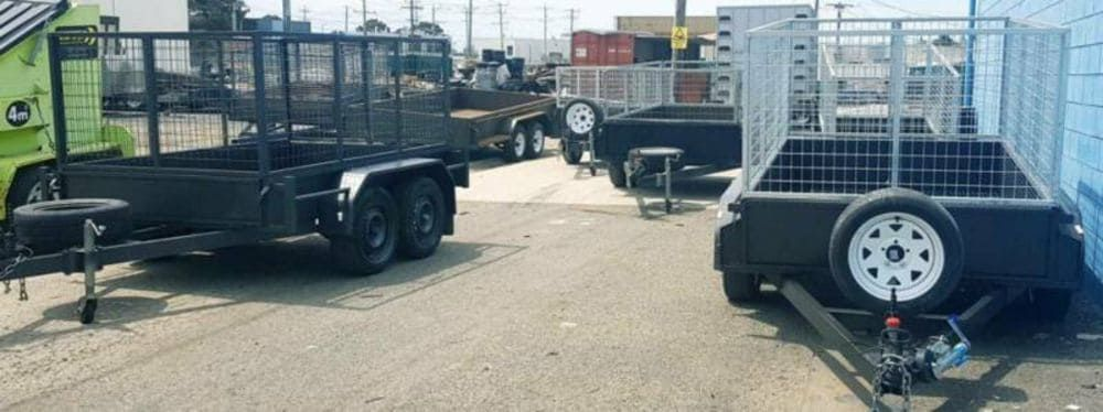 cage trailers for hire