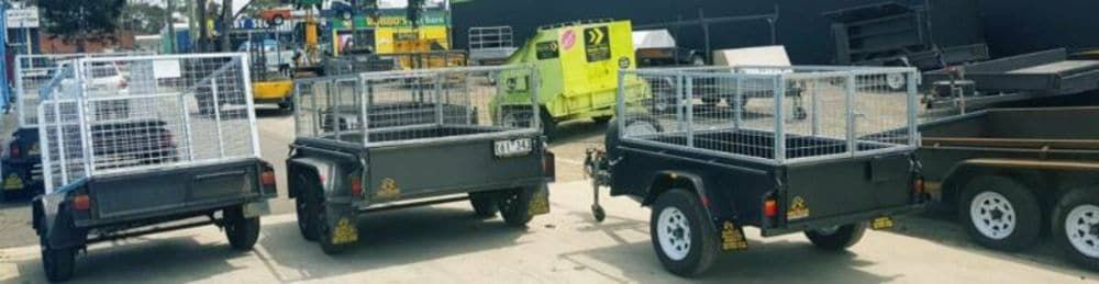 tandem trailers for hire